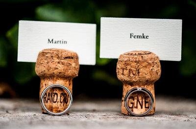 Willen jullie geen standaard trouwring? Hier zijn 7 originele ideeën voor jullie trouwringen!