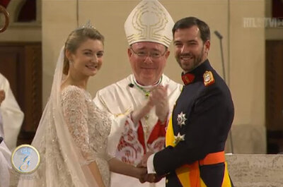 Boda Real Guillermo de Luxemburgo y Stéphanie de Lannoy