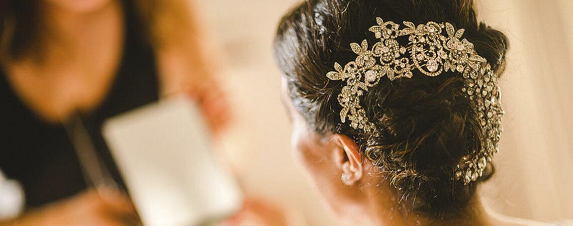 Cómo elegir el peinado de novia de acuerdo a tu tipo de rostro