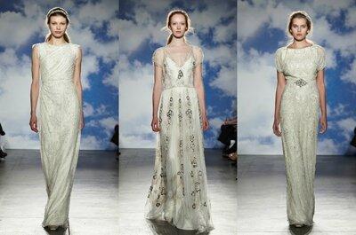 Die Brautmoden-Kollektion 2015 von Jenny Packham – exklusiv von der New York Bridal Week