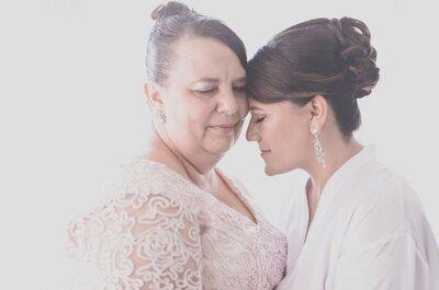 Cinco consejos para las madres de las novias. ¡Todos son importantes!