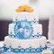 Tortas con pastillaje para bodas.  Foto: Trowfotographie & Feedstudio.
