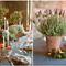 Macetas y lindas velas, dos toques que marcaron el entorno acogedor de la recepción - Foto Aaron Delesie