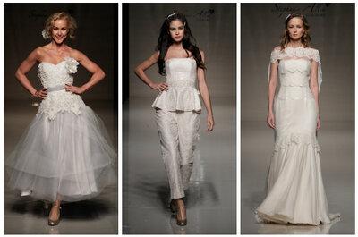 A última tendência da moda noiva na passarela da White Gallery 2012