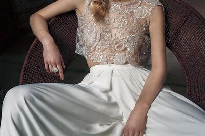 Vestidos de noiva estilo vintage 2017: Revive a essência do romanticismo!