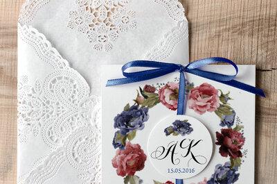Zaproszenia ślubne - mały, ważny kartonik na Twój wymarzony ślub!