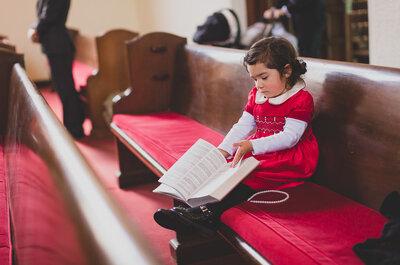 Cómo involucrar a los niños en una boda: 6 tips buenísimos