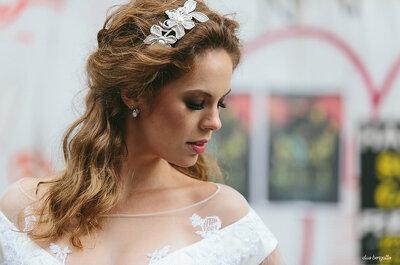 Como escolher os brincos do casamento: formato do rosto, decote e penteado dão as pistas!