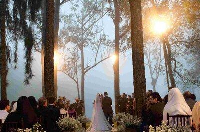 Fazenda, chácara ou sítio: conheça 12 locais perfeitos para seu casamento ao ar livre em São Paulo