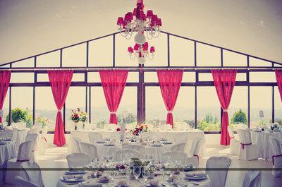 Tonos morados para la decoración de tu matrimonio. ¡Toma nota!