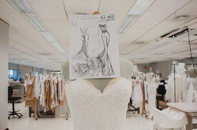 Así se hace un vestido de novia: Zankyou entra a la fábrica de Pronovias