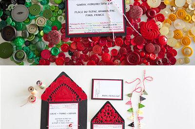 Top 5 de invitaciones de boda 2013