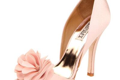 Scarpe rosa per spose e invitate