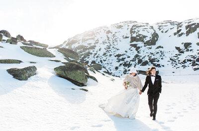 Look da semana: noiva de Inverno