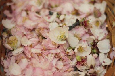 Ideas para una boda copada de flores
