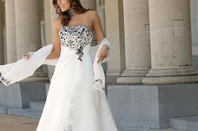 Brautkleider mit Farbe aus der Ladybird Kollektion