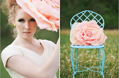 Espejismo de magia: Ideas para envolver tu boda en un jardín fantástico lleno de color