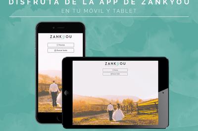 La app de Zankyou te ayuda a organizar tu matrimonio. ¡Descárgala ya!