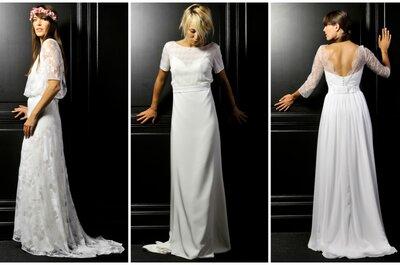 Leutellier Tesson 2016 : de sublimes robes de mariée élégantes et gracieuses