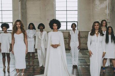 Solange Knowles: matrimonio minimal per la sorella di Beyoncé