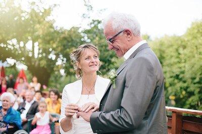 Découvrez le mariage en Isère de Marie-Jo et Michel : Une histoire d'amitié qui s'est muée en une belle histoire d'amour