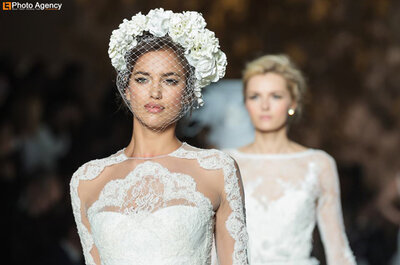 Wedding veil and headwear trends for 2014