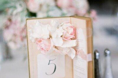 5 pomysłów na własnoręcznie robione tabliczki z numerami stołów