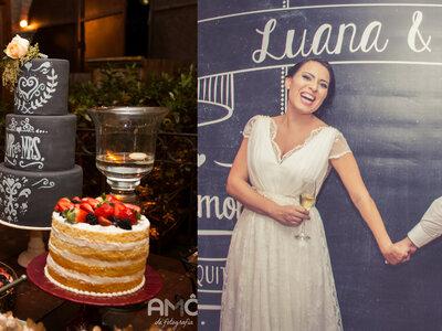 Luana e Fábio: casamento vintage super romântico no Espaço Tiella em São Paulo