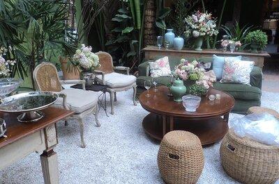 Como decorar seu casamento com lounges e zonas chill out: 7 ideias fantásticas!
