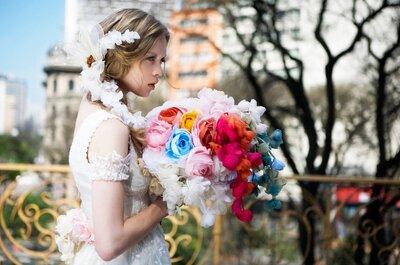 Pantone 2015: cores pastéis para um casamento romântico e glamouroso