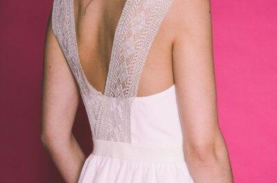 Robes de mariée dos nu 2016 : sensualité et chic