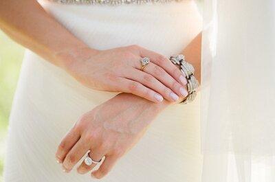 Joyas para novia 2015: Descubre los accesorios que te harán brillar con luz propia