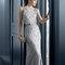 Hochzeitsgastkleid aus der Festmodenkollektion 2015 von Rosa Clará (8T322)