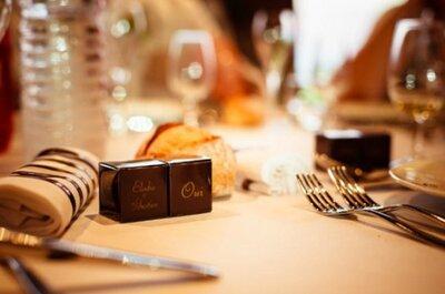 Gastgeschenke für Ihre Hochzeit: individuelle Leckereien von Chocolat de Mariage