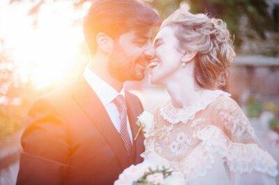 Real wedding international : mariage vintage chic à Florence en Italie