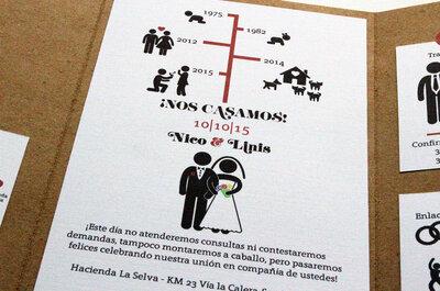 ¡20 frases para tus invitaciones de matrimonio!