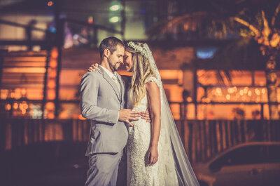 Marcela e Vinicius: sunset wedding rústico emocionante no Rio de Janeiro