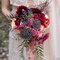 Bouquet de mariée composé de champignons et fougère
