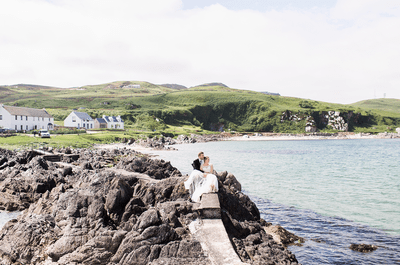 Real Wedding: Lynn and Kyle's quintessentially Scottish Wedding!