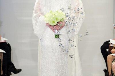 Magia ancestral: Vestidos de novia primavera 2015 de Theia