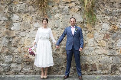 ¿Eres más alta que tu novio? Tips para que esto no sea un problema al momento de elegir el look de tu boda