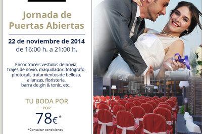 El evento de boda más chic: II Jornada de Puertas Abiertas en el Hotel Meliá Avenida América