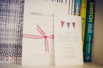 Inspiratie trouwkaarten: van sjiek tot nonchalant