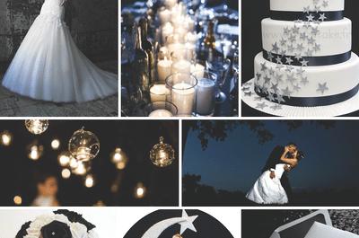Cómo tener una boda inspirada en la luz de la luna: Luz, magia y encanto al por mayor