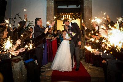 12 soluciones para 12 problemas que se pueden presentar en tu boda