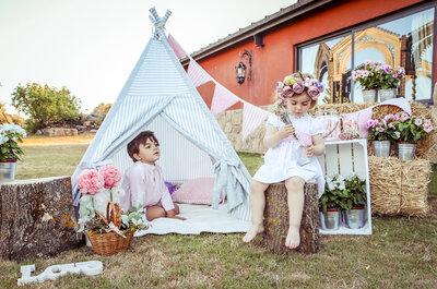Como fazer uma área infantil no casamento: alegria para os pequenos, tranquilidade para os pais!