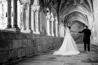 Un lugar testigo de su amor: la boda de Mamen y Roge en el Parador de Santo Estevo