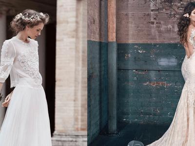 Los 100 vestidos de novia más hermosos y encantadores para el 2016: ¡Encuentra el tuyo!