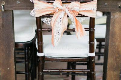 Cómo decorar una boda con el color durazno: El tono más sublime para 2016