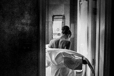 Черно-белые свадебные фотографии: вдохновение для вас